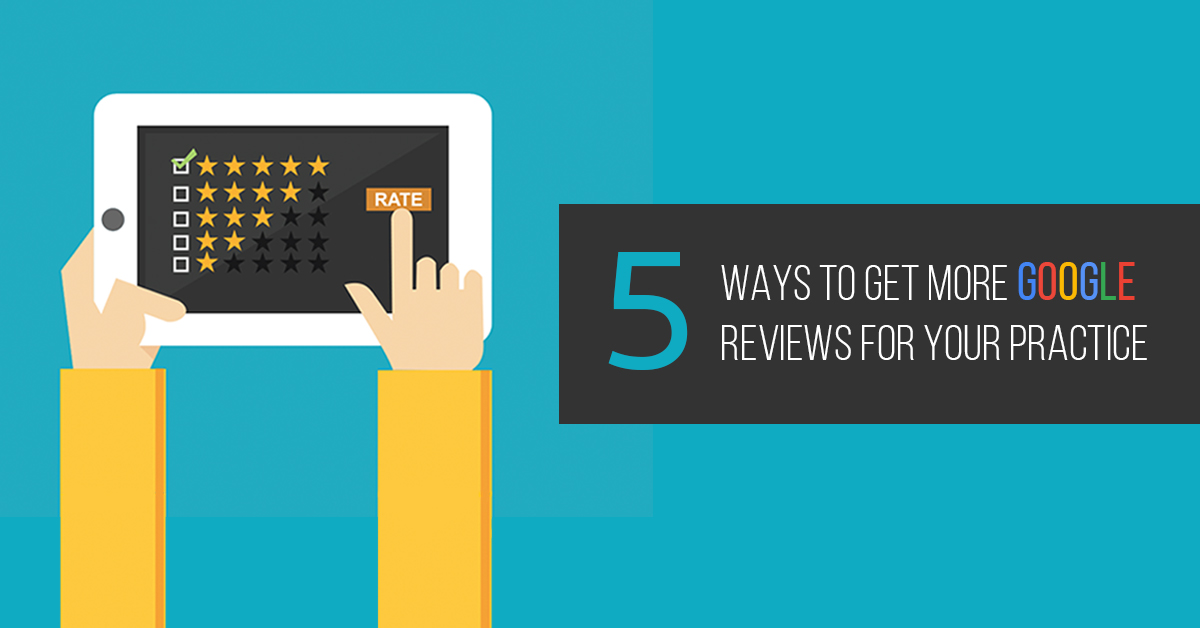 5 ways to get more google reviews
