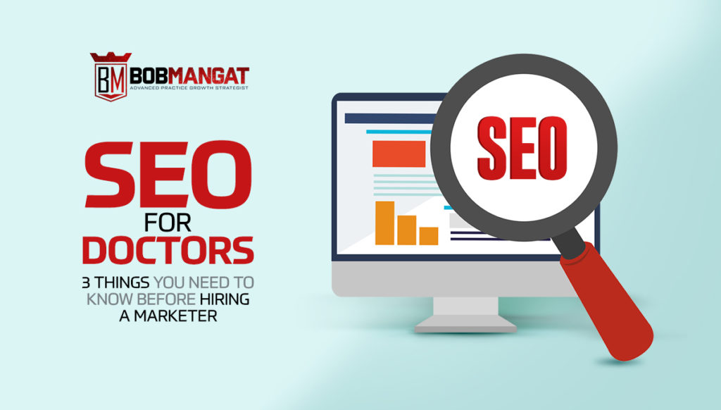 computer graphic for SEO for doctors