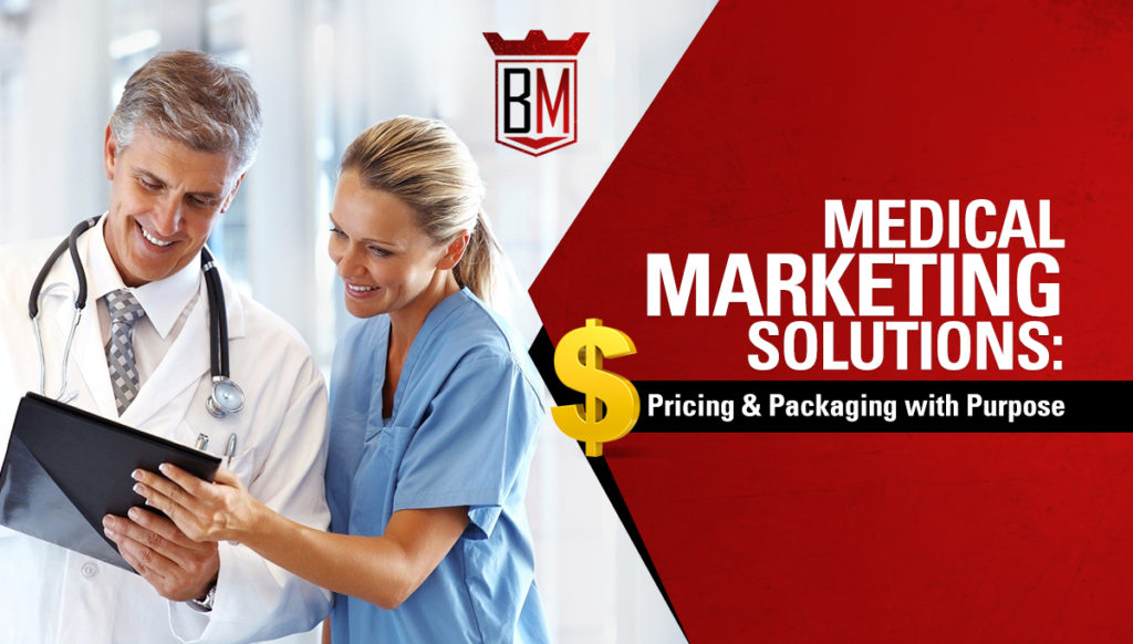 doctors looking at services pricing and packaging